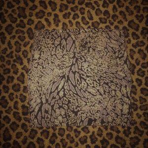 Animal Print Skirt XL